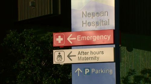 Declan's lips went blue and he stopped breathing for 90 minutes as Nepean emergency staffed figured out a solution. Picture: 9NEWS.