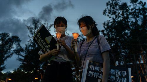 Tiananmen Square vigil