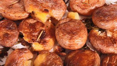 Perfect, crunchy roast potatoes