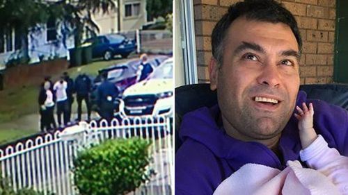 Dramatic CCTV shows the moment a 23-year-old is arrested over the murder of Erol Tokcan.