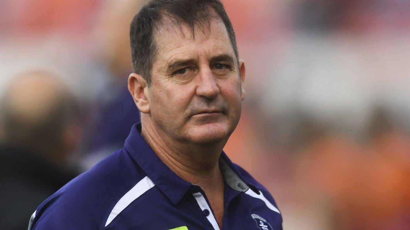 Fremantle Dockers defend under-fire coach Ross Lyon after second complaint report