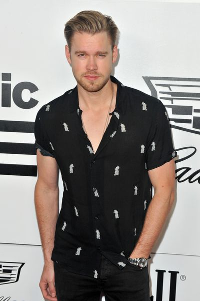 <em>Glee</em> star Chord Overstreet at the VMA after party hosted by Republic Records