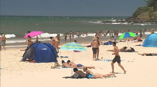 In a trial of 209 people at Edith Cowan University, 81 percent of melanoma cases were picked up early. Picture: 9NEWS.