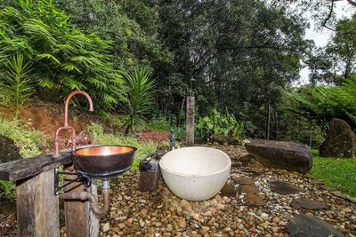 "<strong>#2 <a href=""https://www.airbnb.com/rooms/945947"" target=""_top"">Forest Cabin Byron Bay Hinterland</a> - Byron Bay Hinterland, New South Wales</strong>"