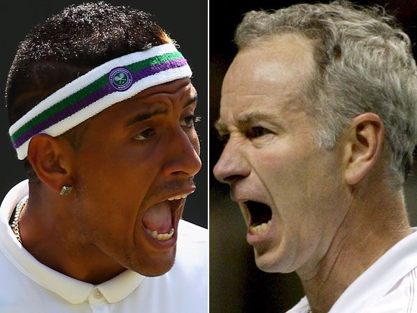 Kyrgios needs help from greats: McEnroe