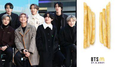 McDonald's teams up with BTS