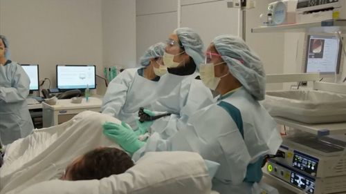 """Jimmy Kimmel's colonoscopy procedure featured on Tuesday's episode of """"Jimmy Kimmel Live."""" (ABC)"""