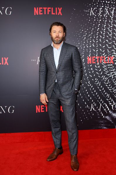 The King, movie, Joel Edgerton, red carpet, premiere