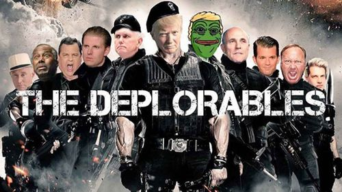The Deplorables image posted by Donald Trump Jr. (Instagram)