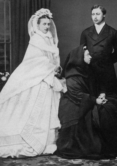 Princess Alexandra of Denmark, married 1863