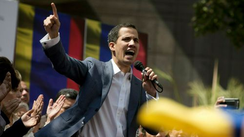 Opposition leader Juan Guaido has been recognised as the country's leader by the US.