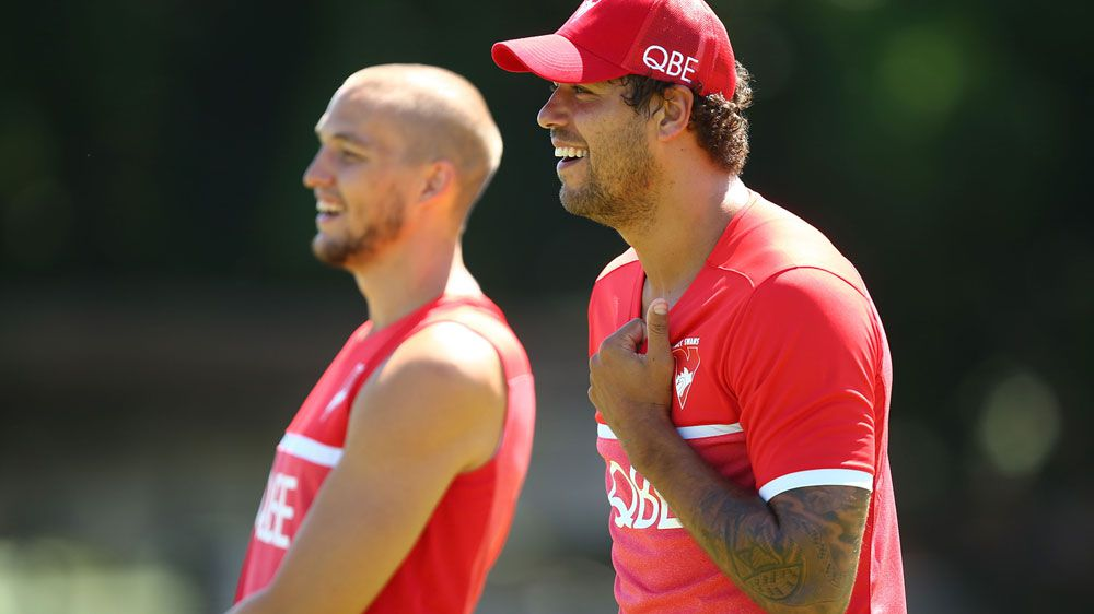 Swans hoping Buddy's back for good