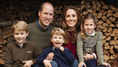 Prince Louis and family 2020