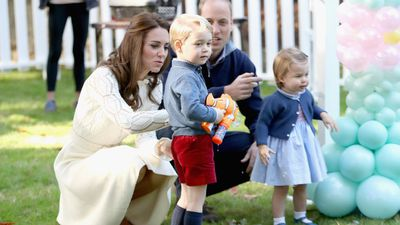 Princess Charlotte and family, September 2016
