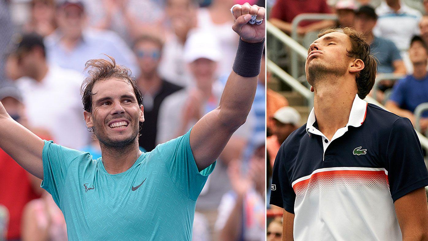 Rafael Nadal cruises to Canadian Open title win against 'machine' Daniil Medvedev