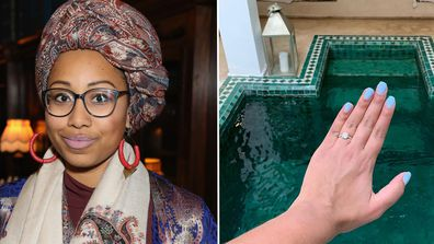 Yassmin Abdel-Magied has announced she is engaged to her boyfriend