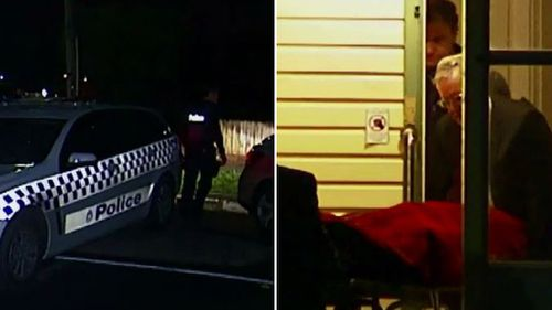 A man was pronounced dead at the scene. (9NEWS)