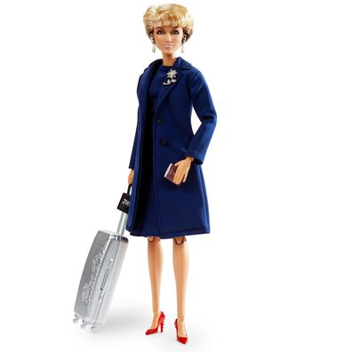 The doll's outfit is modelled on the dress Julie Bishop wore the day she quit politics.