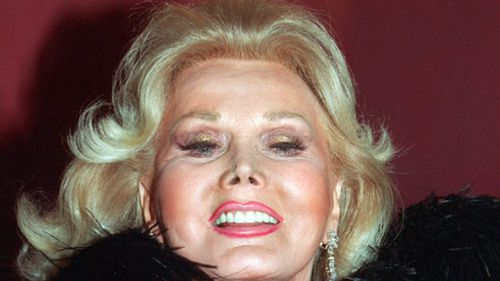 Zsa Zsa Gabor was well-known for her glamour and elegance. (AAP)
