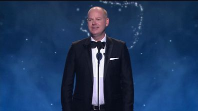 Tom Gleeson delivers opening monologue at the 2019 TV Week Logie Awards