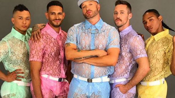 US rapper Cazwell in lace shorts. Image: Instagram/@cazwellnyc