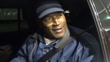 O.J. Simpson out but 'still a prisoner'