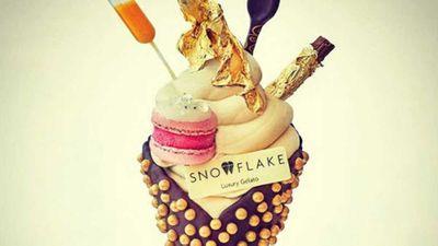Britain's most expensive ice cream – £99 worth of indulgence