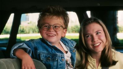 Jonathan Lipnicki and Renée Zellweger played the leading mother and son duo in the film.