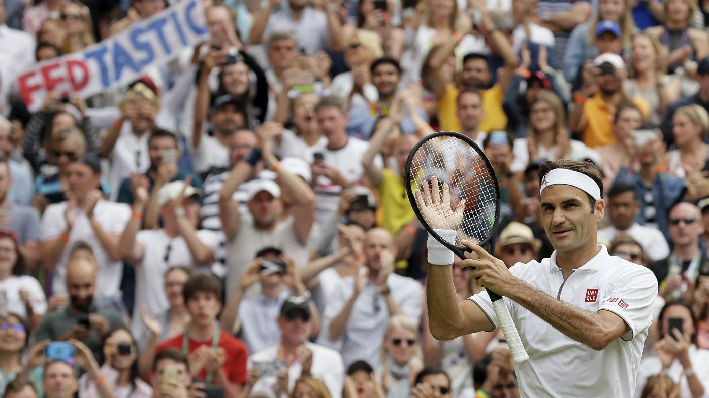 Roger Federer on record-breaking Wimbledon tilt, Rafael Nadal semi-final looms