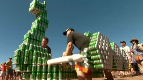 Cans of ale set sail for a good cause at Darwin's annual Beer Can Regatta