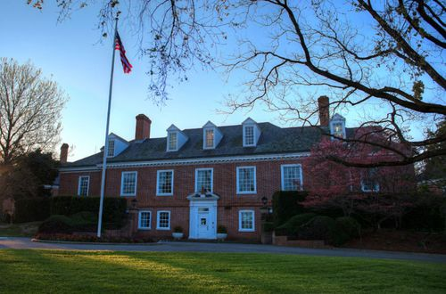 The US embassy at Yarralumla in Canberra. (Photo: US State Department)