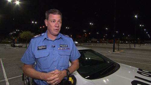 """Senior Sergeant Daniel Greives says """"Operation Confine"""" was designed in response to concern from the community."""