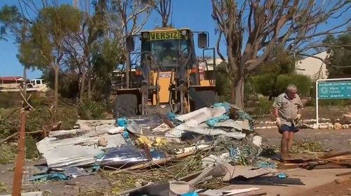 Cyclone Seroja clean up insurance catastrophe