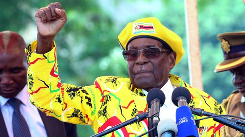 The Zimbabwean leader is set to resign as president today.