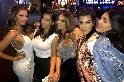 Kim Kardashian, Larsa Pippen, Instagram photos
