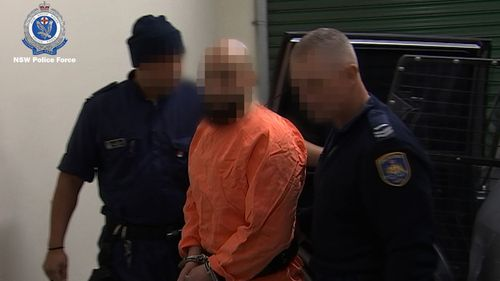 Bassam Hamzy was taken from Goulburn Supermax, where he is serving a lengthy sentence for murder.