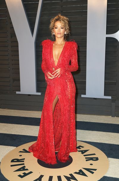 Singer Rita Ora inZuhair Murad Spring 2018