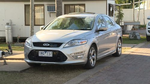 Detectives have located the couple's stolen Ford. Picture: 9NEWS