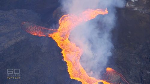 The volcano could keep erupting for years.