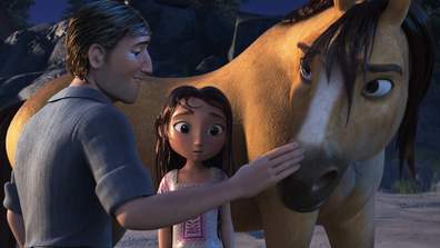 Jake Gyllenhaal voices the father of the lead character Fortuna.