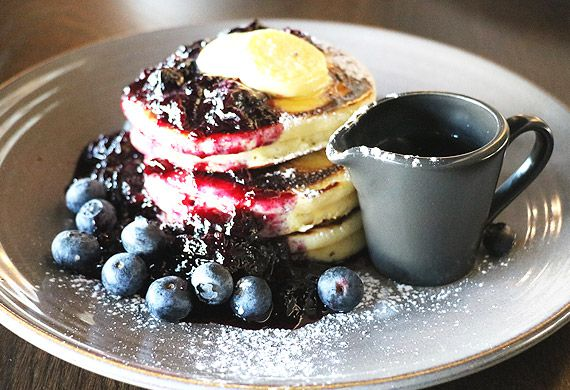 The Gantry's blueberry pancakes
