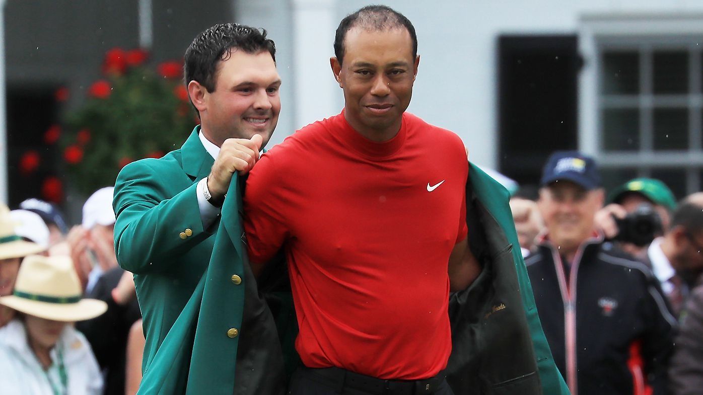 Tiger Wood sis presented the Green Jacket at the 2019 Masters