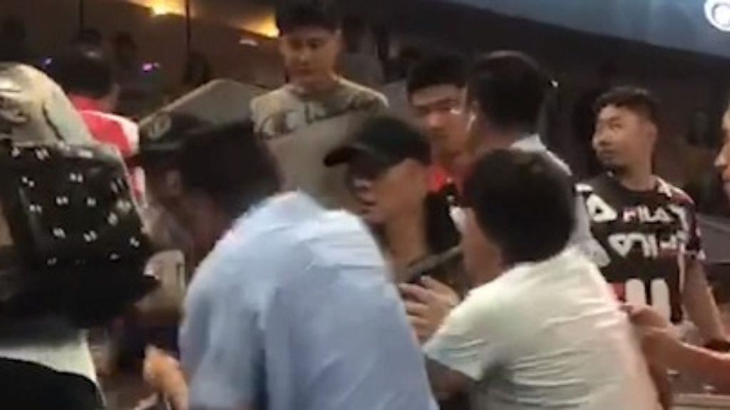 Shuai Zhang's family friend banned from China Open after sparking ugly brawl with fan
