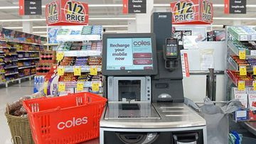 Coles is cracking down on self-service checkout theft.