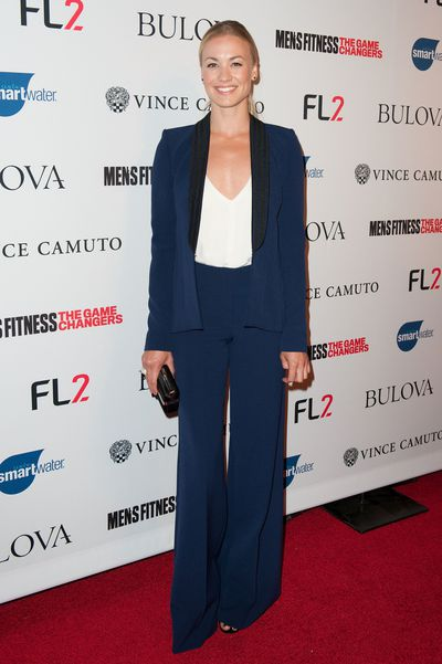 Yvonne Strahovski at the <em>Men's Fitness Magazine</em> Hosts Annual 'Game Changers' Celebration in Hollywood September 2015&nbsp;