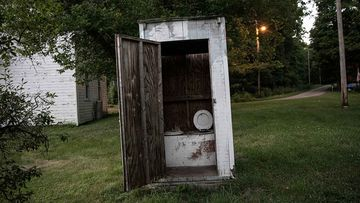 Outhouses are increasingly uncommon, though bear attacks are rarely cited as justifications for getting an indoor toilet.