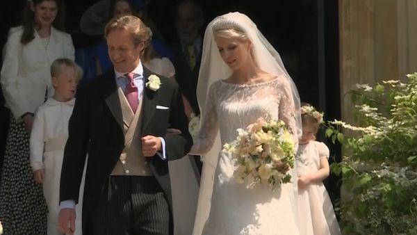 3128d8a7510 Lady Gabriella Windsor marries Thomas Kingston in Royal Wedding