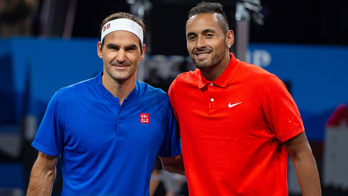 Roger Federer's advice to Nick Kyrgios and Ash Barty
