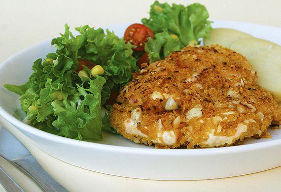 Annette Sym's crunchy nut chicken
