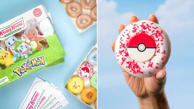 Krispy Kreme unveils Pokémon range — and how you can 'collect them all'